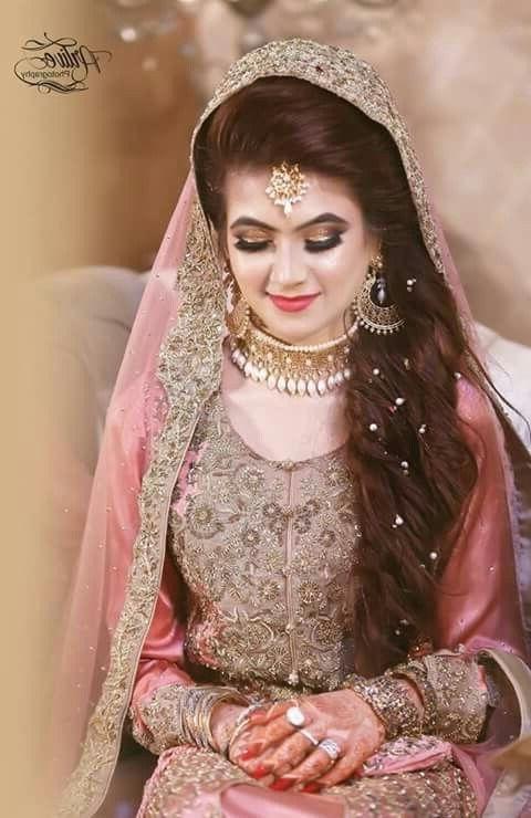 New Pakistani Bridal Hairstyles To Look Stunning 20 | Fashionglint regarding Pakistani Wedding Hairstyles