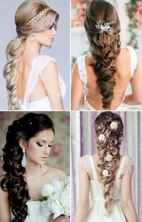 Nice Wedding Hair | Hair And Makeup | Pinterest | Hair Style, Updos Intended For Wedding Hairstyles For Long Hair With Round Face (View 7 of 15)