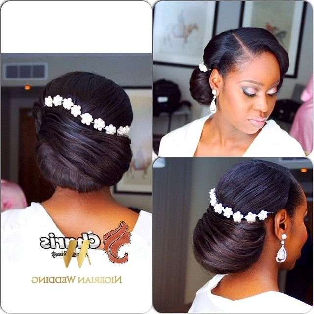Nigerian Wedding Black Bridal Hair Ideas And Inspiration 39 Inside Wedding Hairstyles For Nigerian Brides (View 9 of 15)