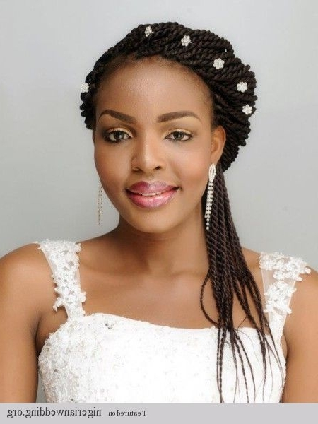 Featured Photo of African Wedding Braids Hairstyles