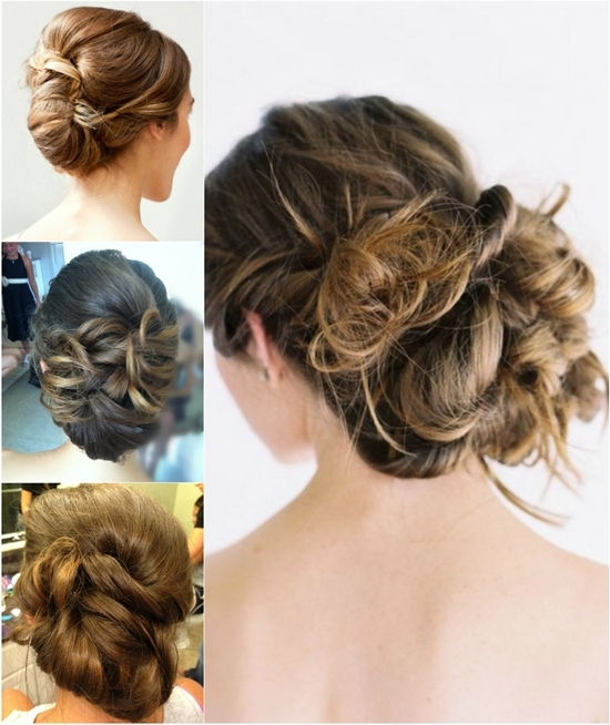 Ombre Wedding Hairstylesclip In Brown Ombre Color Hair Extensions – With Wedding Hairstyles With Ombre (View 11 of 15)