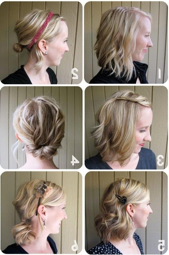 One Week Of Great Hair – Simple Hairstyles For Medium Length Throughout Simple Wedding Hairstyles For Medium Length Hair (View 14 of 15)