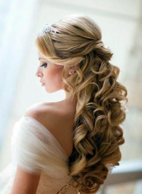 Open Hair Style Images – The Newest Hairstyles Intended For Wedding Hairstyles For Open Hair (View 14 of 15)