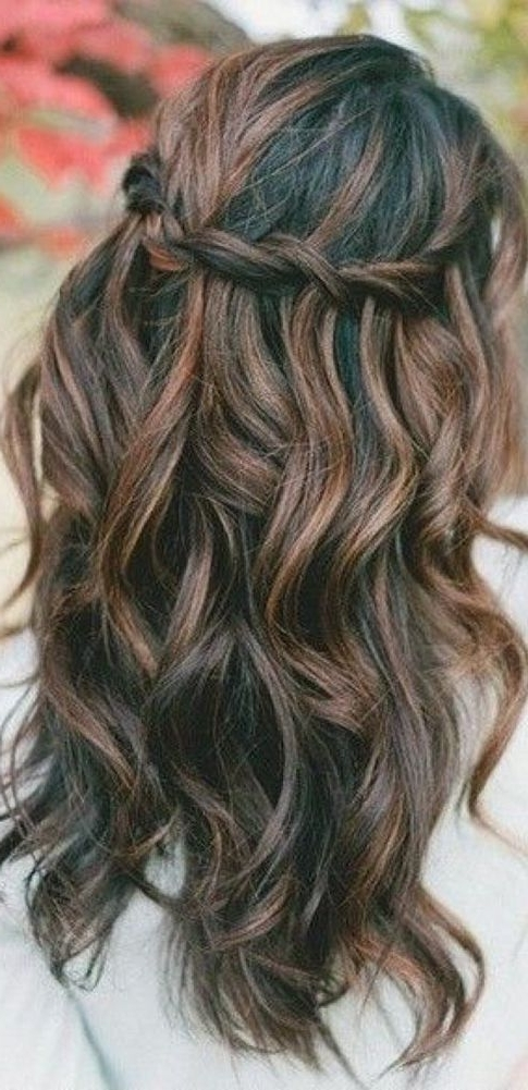 Our Favorite Wedding Hairstyles For Long Hair ? See More: Www Within Wedding Hairstyles For Long Layered Hair (View 15 of 15)