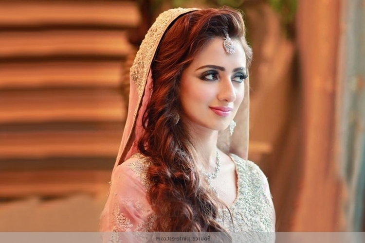 Pakistani Bridal Hairstyles: Hair Glamour For Your Special Day Throughout Pakistani Wedding Hairstyles (View 11 of 15)