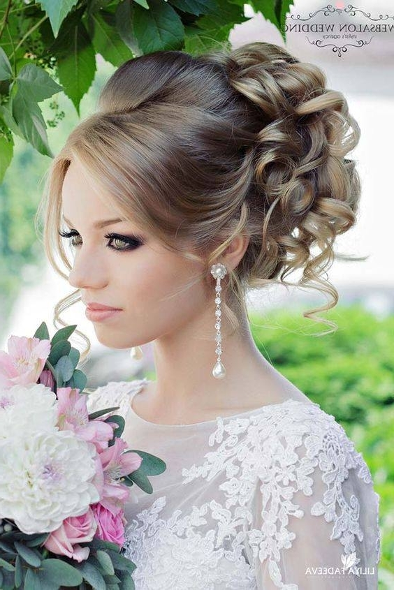 Pakistani Bridal Wedding Hairstyles Trends 2017 2018   Womenstyle (View 7 of 15)