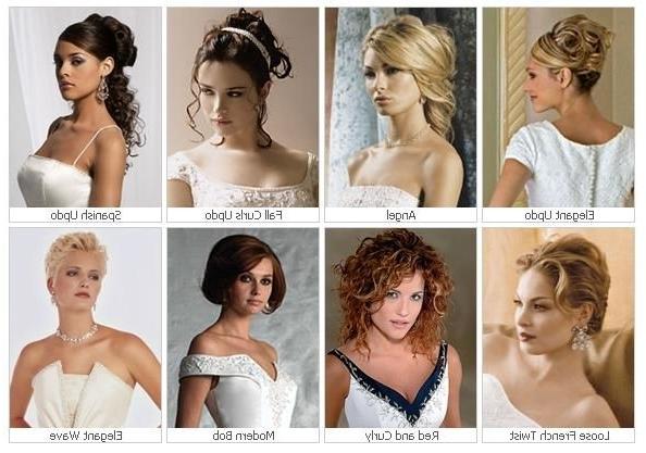 Penteados Para Casamentos: Ideias E Inspirações! | Hairstyles Thin Intended For Wedding Hairstyles For Oval Face (View 15 of 15)