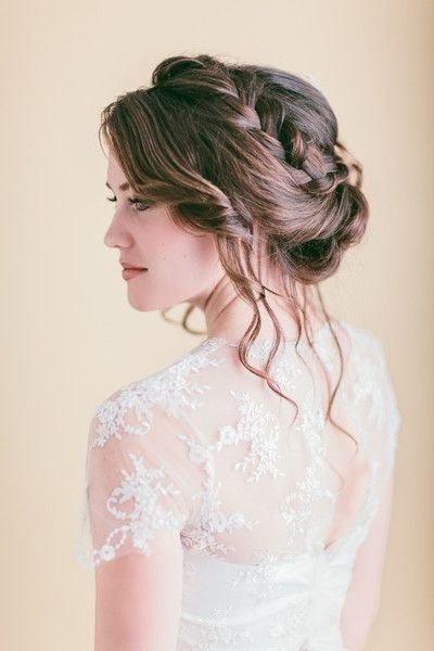Perfect Hairstyle For A Romantic, Relaxed #wedding Day Look With Regard To Relaxed Wedding Hairstyles (View 12 of 15)