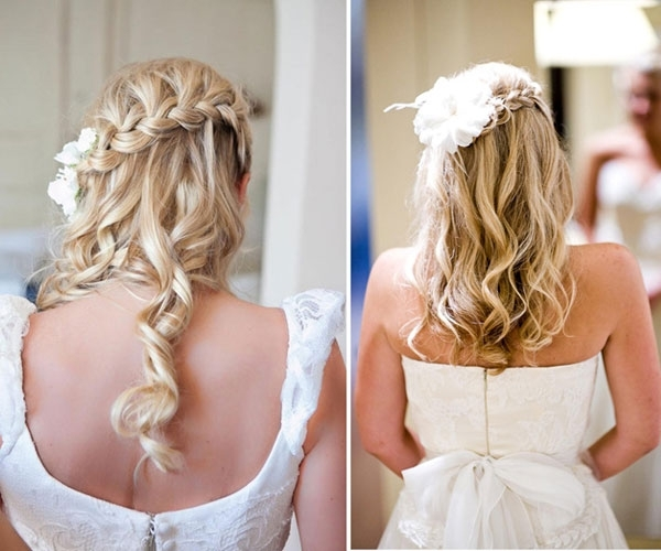 Phenomenal Wedding Hairstyles Down | Medium Hair Styles Ideas – 39595 For Wedding Hairstyles Down For Thin Hair (View 10 of 15)