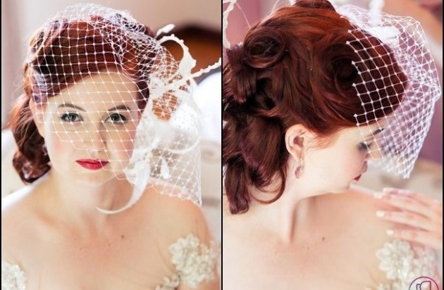 Featured Photo of Pin Up Wedding Hairstyles