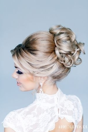 Pinamy Bales On Wedding | Pinterest | Hair Style With Regard To High Updos Wedding Hairstyles (View 5 of 15)