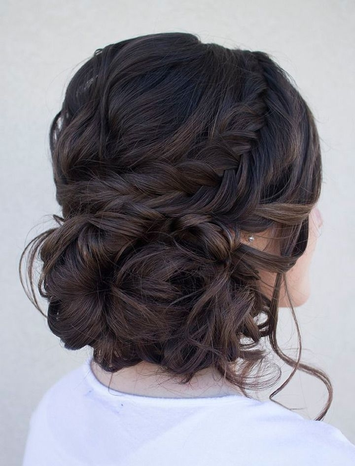 Pinapril Kit On Hair Tips | Pinterest | Hair Inspiration And Prom Regarding Brunette Wedding Hairstyles (View 10 of 15)