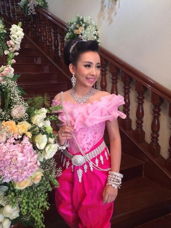 Pindreamer On Cambodia Brides | Pinterest | Cambodia Intended For Khmer Wedding Hairstyles (View 11 of 15)