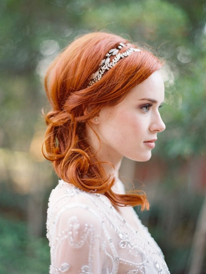 Pinel Jardín De Mayla On Red Hair | Pinterest | Red Heads, Red With Regard To Wedding Hairstyles For Red Hair (View 8 of 15)