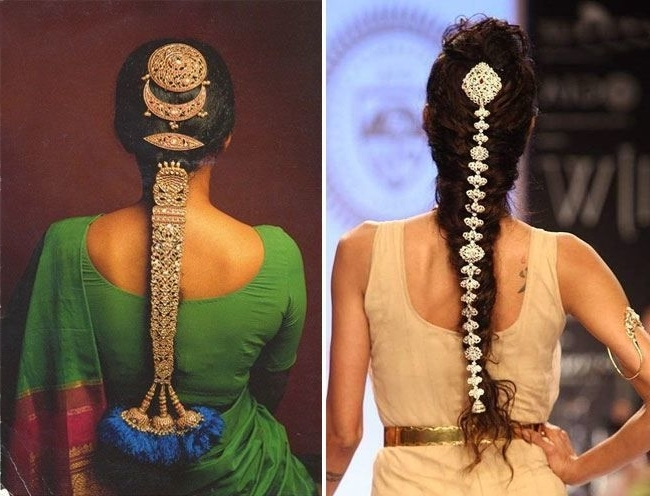 Pinguitar Songs On Clothes Hair And Make Up | Pinterest | Summer Intended For Braided Hairstyles For Long Hair Indian Wedding (View 9 of 15)