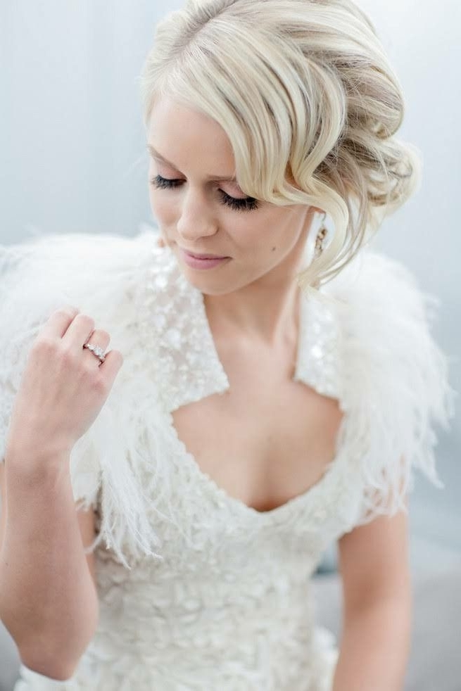 Pinlara Cosseboom On Everything Wedding | Pinterest | Makeup And Inside Quirky Wedding Hairstyles (View 9 of 15)