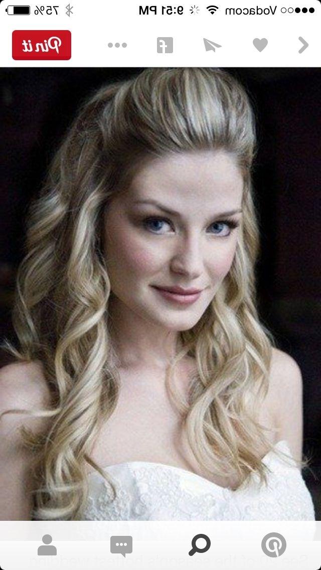 Pinnadia Kruger On Wedding Hair | Pinterest | Bridesmaid Hair Intended For Quiff Wedding Hairstyles (View 15 of 15)