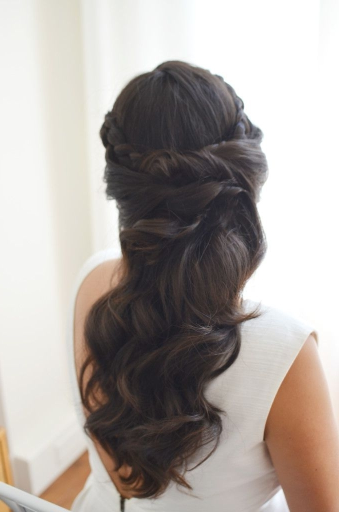 Pinpatience Elizabeth Towne On Wedding | Pinterest | Wedding Throughout Brunette Wedding Hairstyles (View 7 of 15)