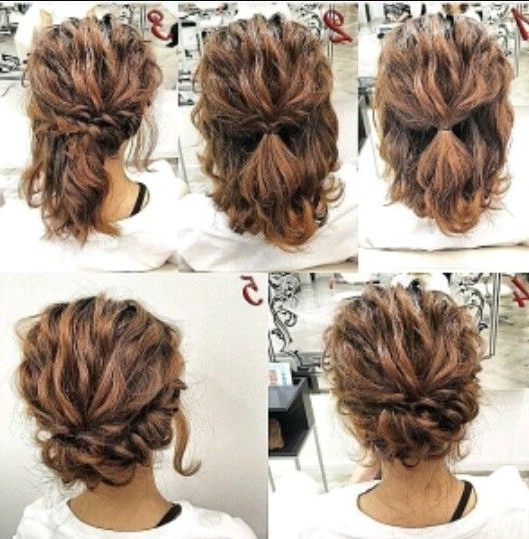 Pinrabia Ismail? On Hair Tutorials | Pinterest | Hair Wedding Inside Beach Wedding Hairstyles For Shoulder Length Hair (View 10 of 15)