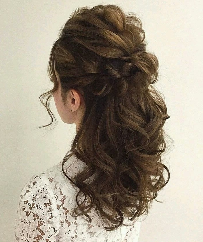 Pinsince31St On Hair Ideas | Pinterest | Prom Hair, Hair Make Up With Wedding Guest Hairstyles For Long Curly Hair (View 8 of 15)