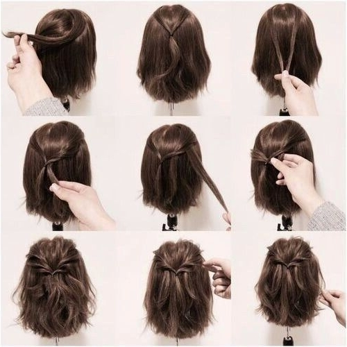 Pintina Roosen On Kapsel | Pinterest | Amazing Hair, Hair Style Inside Easy Bridesmaid Hairstyles For Short Hair (View 12 of 15)