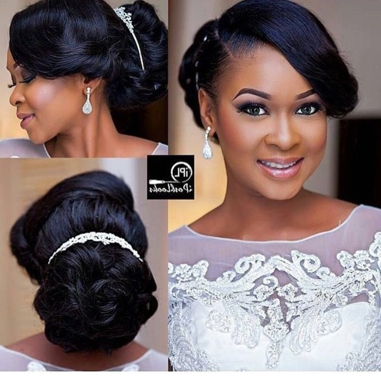 Pintouch Of Jewel Events And Designs, Llc On Bridal Hairstyles With African Wedding Hairstyles (View 14 of 15)