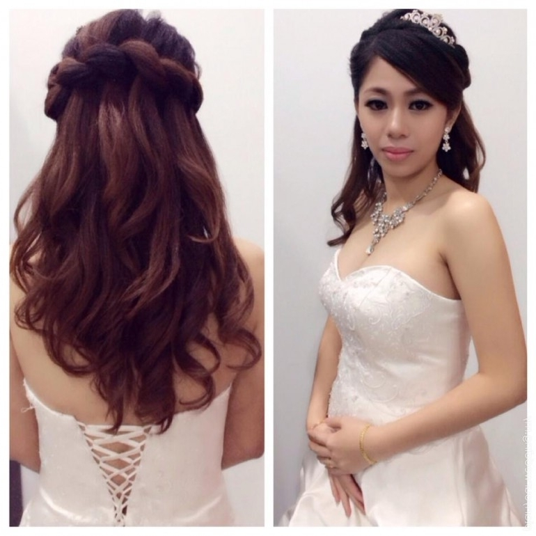 Planyourwedding: Your Wedding Ideas And Inspiration! Inside Wedding Night Hairstyles (View 11 of 15)