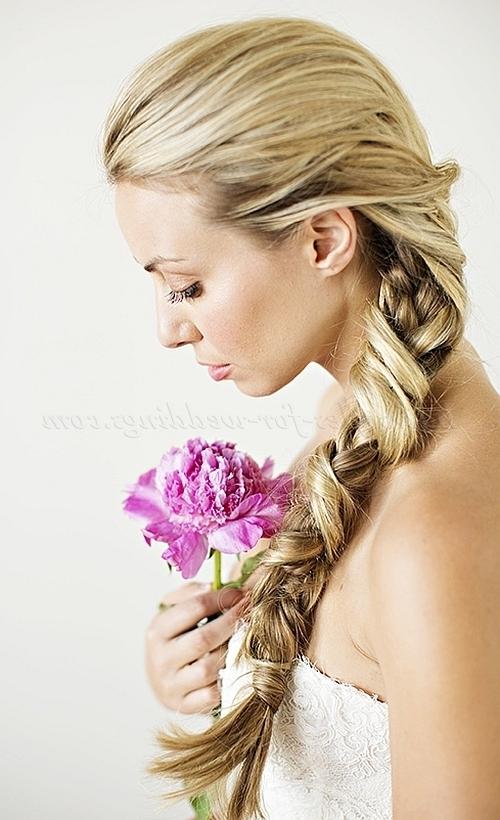Ponytail Hairstyles – Braided Ponytail Wedding Hairstyle Inside Wedding Hairstyles With Ponytail (View 10 of 15)