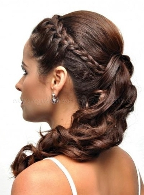 Ponytail Hairstyles – Ponytail Hairstyle With Braid | Hairstyles For Throughout Wedding Hairstyles With Side Ponytail Braid (View 3 of 15)