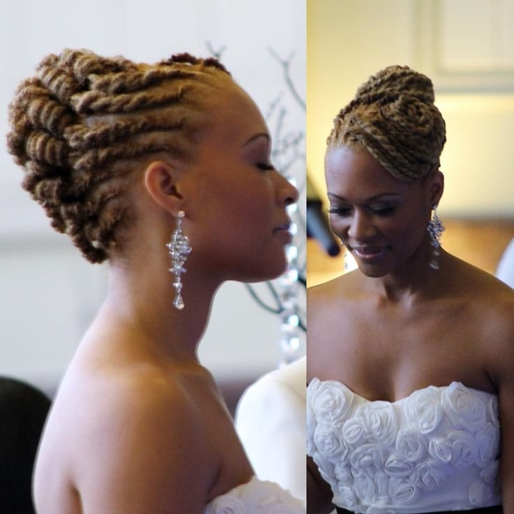 Popular Dreadlock Wedding Hairstyles With Wedding Hairstyles For Within Wedding Hairstyles With Dreads (View 4 of 15)
