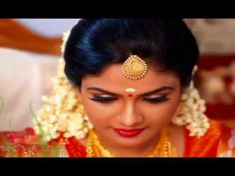 Professional Bridal Makeup Kerala Airbrush Hd Hairstyle Wedding In With Kerala Wedding Hairstyles For Long Hair (View 5 of 15)