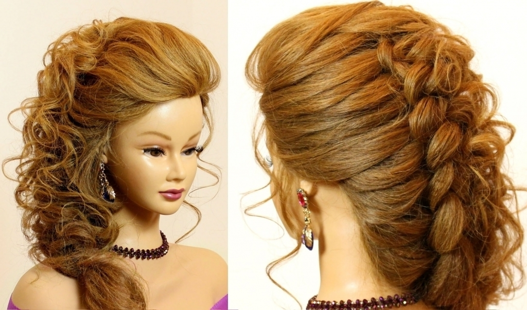 Prom Updos For Long Hair 2016 Prom Wedding Updo Romantic Hairstyle Intended For Prom Wedding Hairstyles For Long Medium Hair (View 10 of 15)