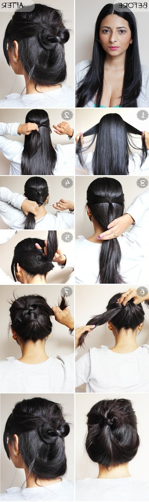 Quick And Easy Updo Hairstyles For Long Hair | Hair Dos/accessories With Regard To Quick And Easy Wedding Hairstyles For Long Hair (View 9 of 15)