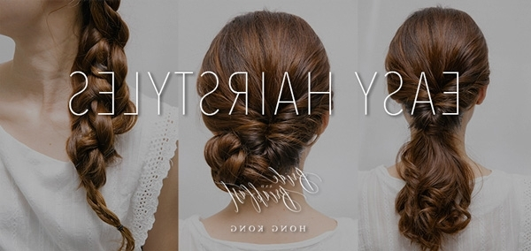 Quick And Easy Wedding Hairstyles | Hong Kong Wedding Blog In Quick Wedding Hairstyles (Gallery 12 of 15)