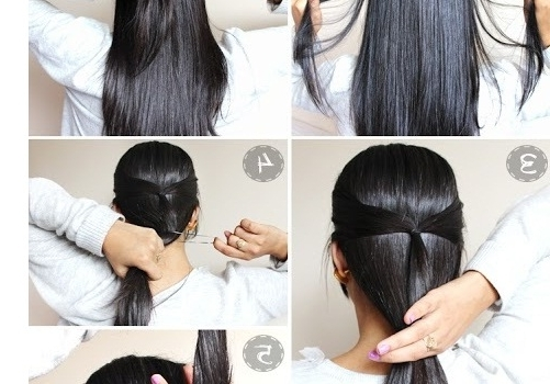Quick Easy Updo Hairstyles For Long Hair – Hairstyle For Women & Man For Quick And Easy Wedding Hairstyles For Long Hair (View 3 of 15)