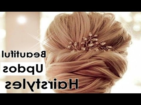 Quick Simple Updos Hairstyles For Bridesmaid Hair, Bridal Hairstyles With Regard To Quick Wedding Hairstyles For Long Hair (Gallery 15 of 15)