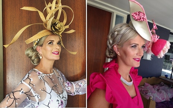 Races Hairstyles With Fascinators – Hair Ideas For Race Day Pertaining To Wedding Guest Hairstyles With Fascinator (View 15 of 15)