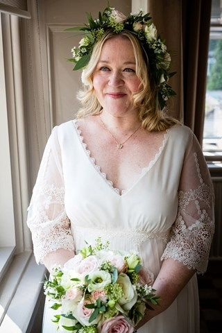 Real Brides: What To Wear If You're An Older Bride | You & Your Wedding Regarding Wedding Hairstyles For Older Brides (View 5 of 13)