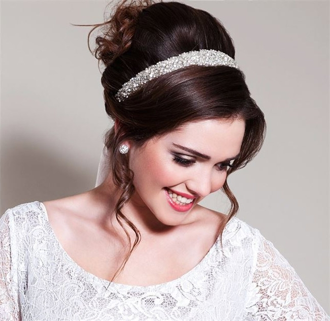 Retro Wedding Hairstyles   Hitched.co (View 13 of 15)