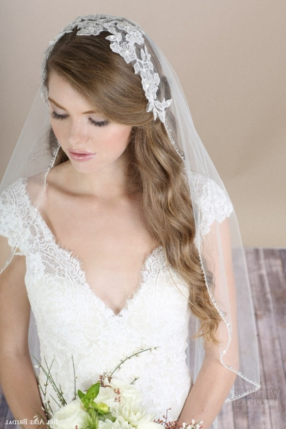 Romantic Accessoriesbel Aire Bridal € Sponsor Highlight Inside Wedding Hairstyles For Long Hair Without Veil (View 9 of 15)