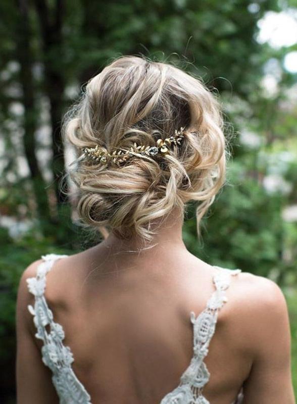 Romantic Wedding Hairstyles – Musikstafa Throughout Romantic Wedding Hairstyles (View 3 of 15)