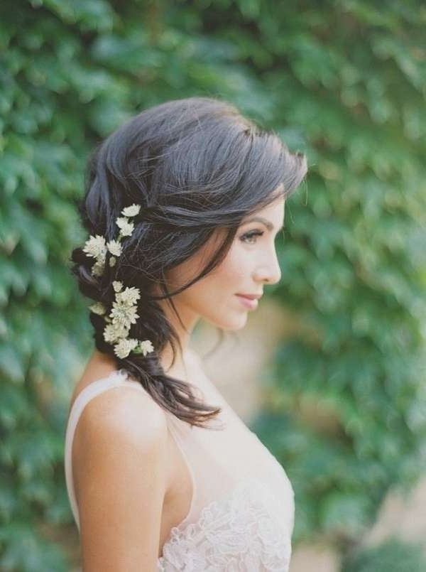 Rustic Wedding Hairstyles Awesome Rustic Medium Wedding Hairstyle Throughout Rustic Wedding Hairstyles (View 11 of 15)