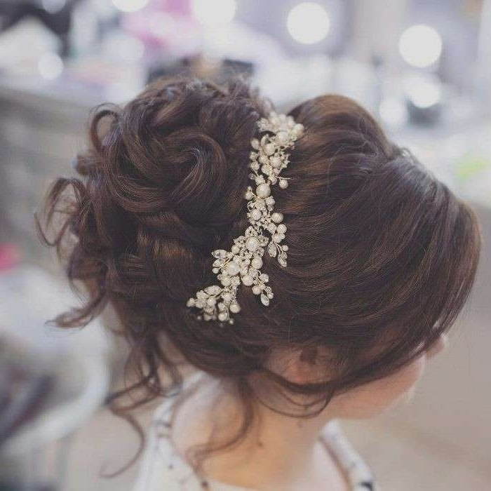 Rustic Wedding Hairstyles Unique Take A Look At These 36 Pretty Regarding Rustic Wedding Hairstyles (View 14 of 15)