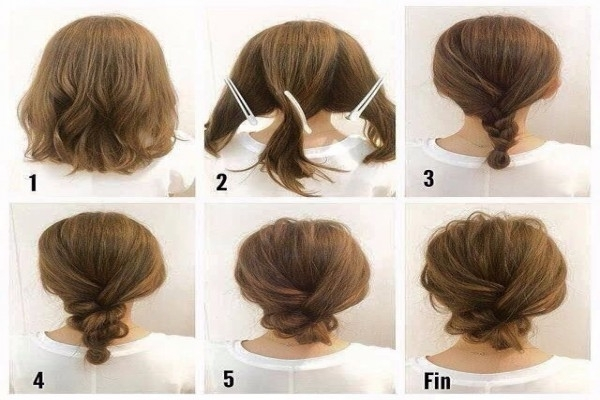 Seven Things You Probably Didn't Know About | Webshop Nature Throughout Easy Bridesmaid Hairstyles For Short Hair (View 13 of 15)
