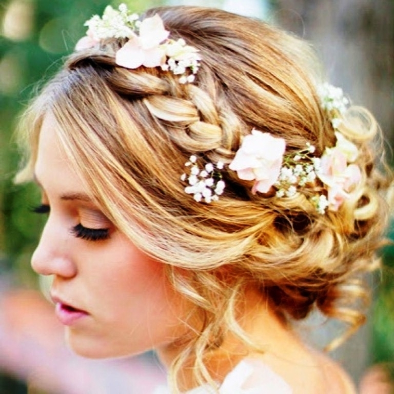 Short Hair Styles For Weddings Stunning Wedding Hairstyles Ideas Intended For Casual Wedding Hairstyles For Short Hair (View 13 of 15)
