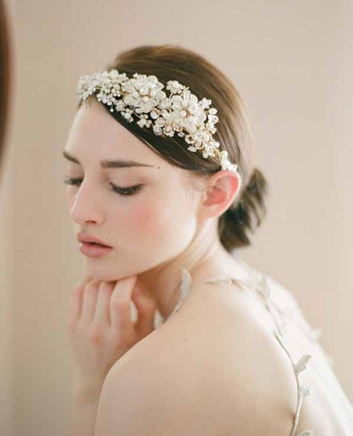 Short Hair Wedding Styles With Tiara Pictures – New Hairstyles Intended For Wedding Hairstyles For Short Hair With Tiara (View 7 of 15)