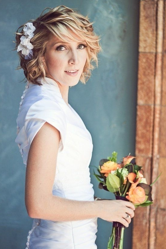 Short Hair Wedding Styles With Veil – Google Search | Sweet Hair Within Bridal Hairstyles For Short Length Hair With Veil (View 6 of 15)