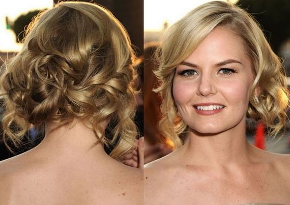 Short Hairstyles: Awesome Short Hairstyles For Wedding Guest Simple Within Wedding Guest Hairstyles For Medium Length Hair With Fringe (View 8 of 15)