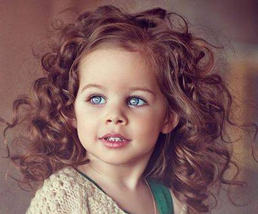 Short Hairstyles For Curly Hair | Medium Hair Styles Ideas – 286 Pertaining To Childrens Wedding Hairstyles For Short Hair (View 14 of 15)
