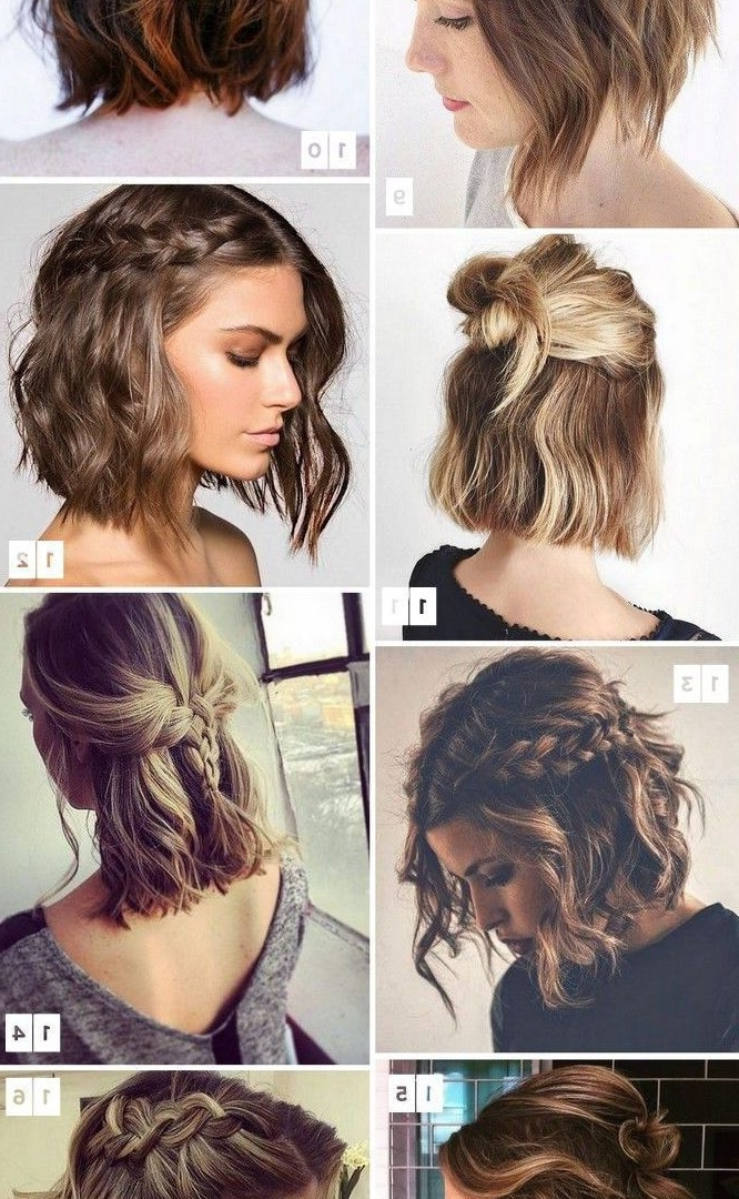 Short Hairstyles For Wedding Guest Black Bridesmaids Weddings Hair Pertaining To Wedding Hairstyles For Short Hair And Bangs (View 15 of 15)